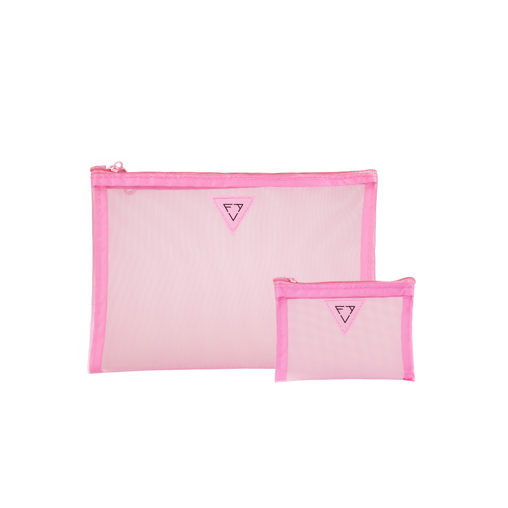 Pink Messi Brush Pouch